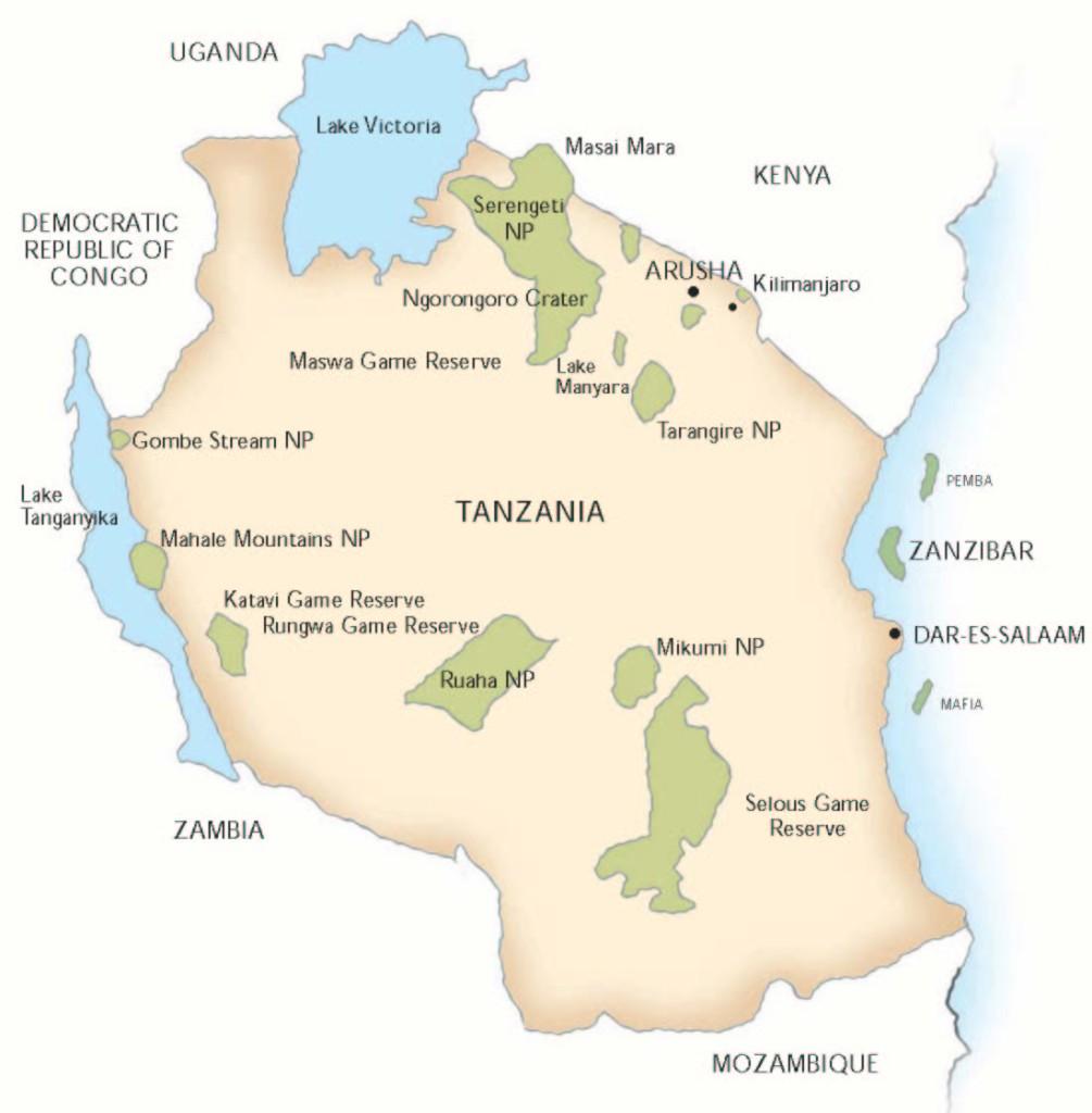 TANZANIA map_0001